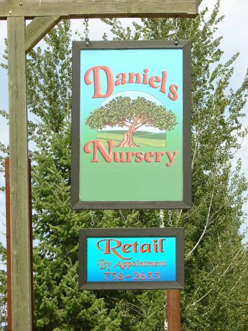 Picture of nursery sign